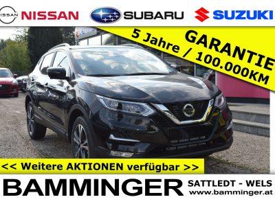 Nissan Qashqai 1,3 DIG-T N-Connecta **AKTIONSPREIS: 28.700€** bei Bamminger Kraftfahrzeuge GesmbH in Sattledt / Wels