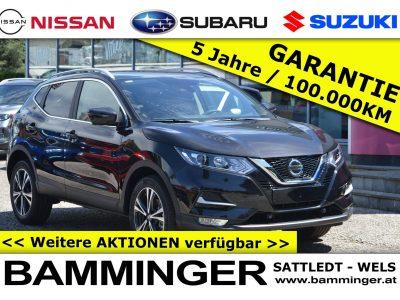 Nissan Qashqai N-Connecta Automatik **Aktionspreis 29.240€** bei Bamminger Kraftfahrzeuge GesmbH in Sattledt / Wels