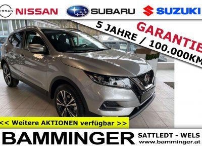 "Nissan Qashqai 1,3 DIG-T N-Way ""AKTIONSPREIS 24.790€"" bei Bamminger Kraftfahrzeuge GesmbH in Sattledt / Wels"